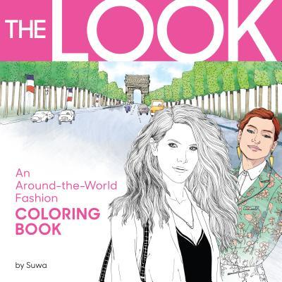 The Look Adult Coloring Book