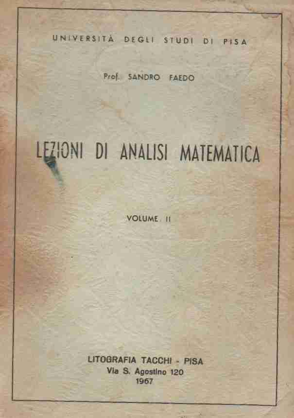 Lezioni di analisi matematica volume II