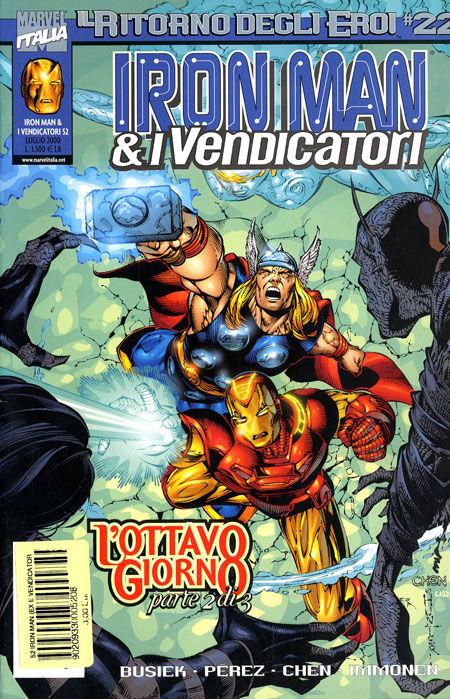 Iron Man & i Vendicatori n. 52