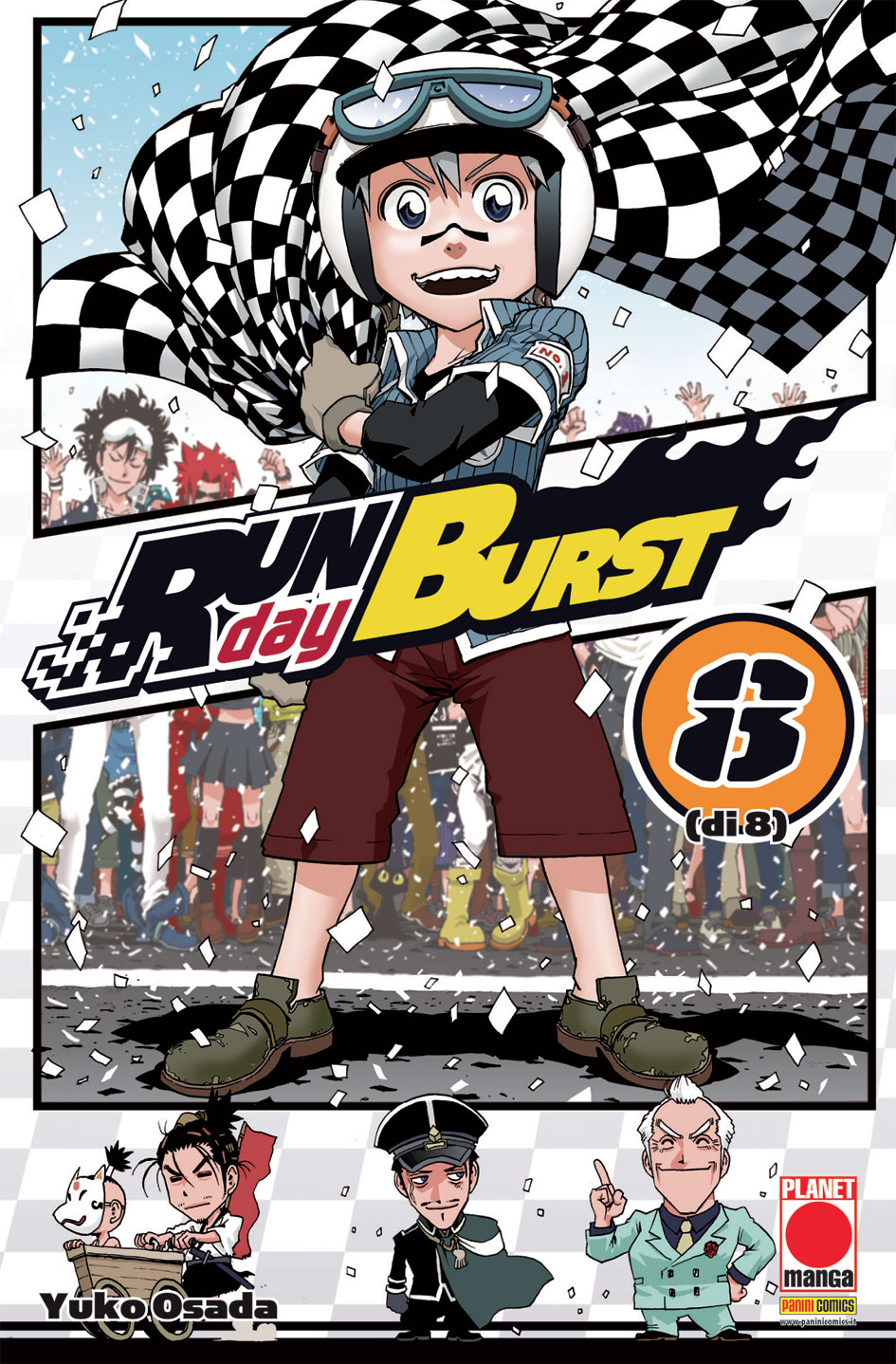 Run Day Burst vol. 8