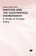 Pakistan and the Geostrategic Environment