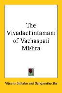 The Vivadachintamani of Vachaspati Mishra
