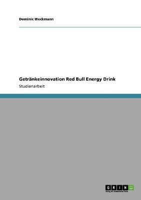 Getränkeinnovation Red Bull Energy Drink