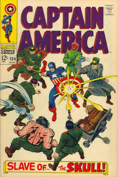 Captain America vol.1 #104