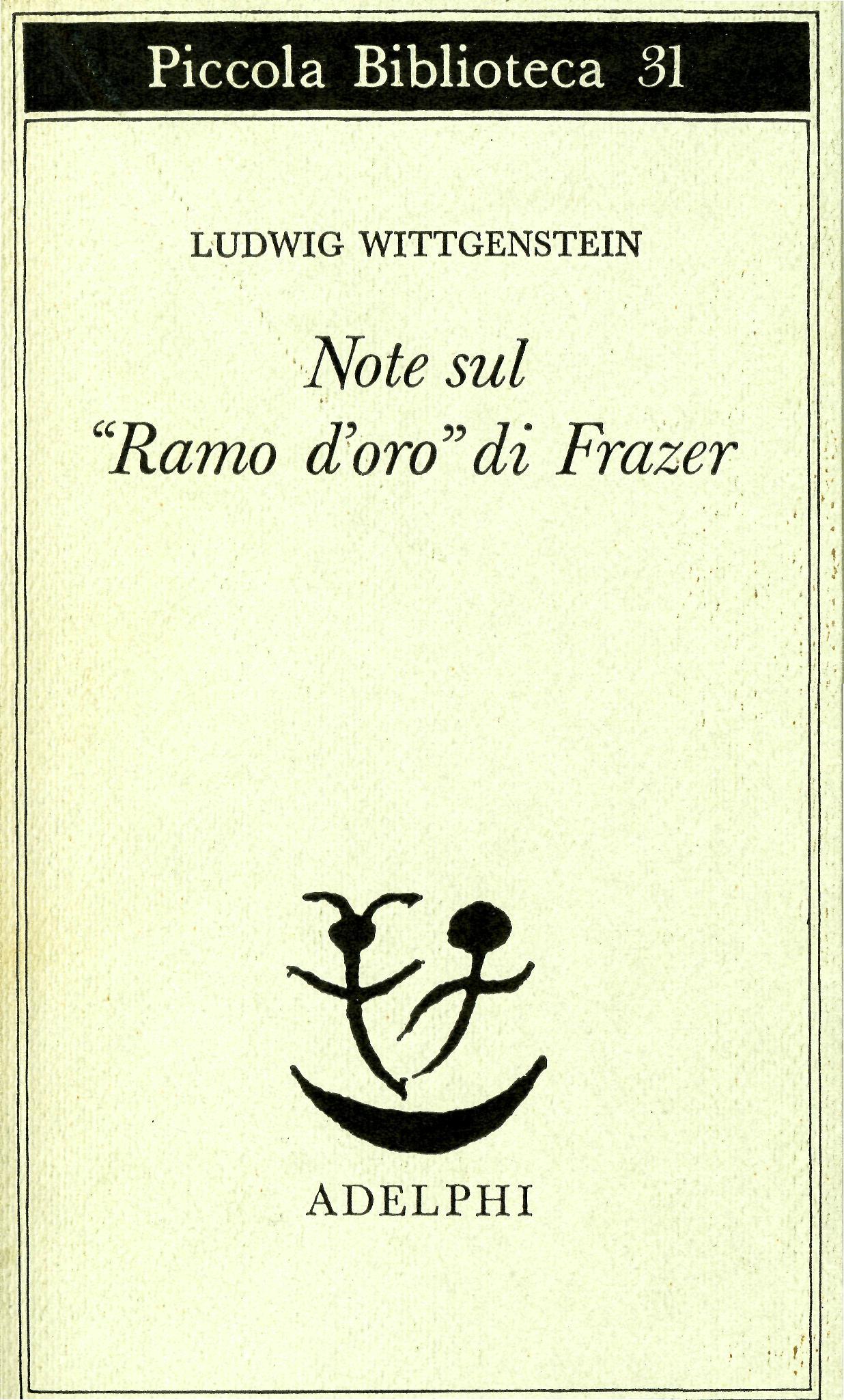 """Note sul """"Ramo d'oro..."""