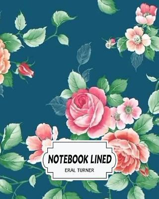 Notebook Lined Flora...