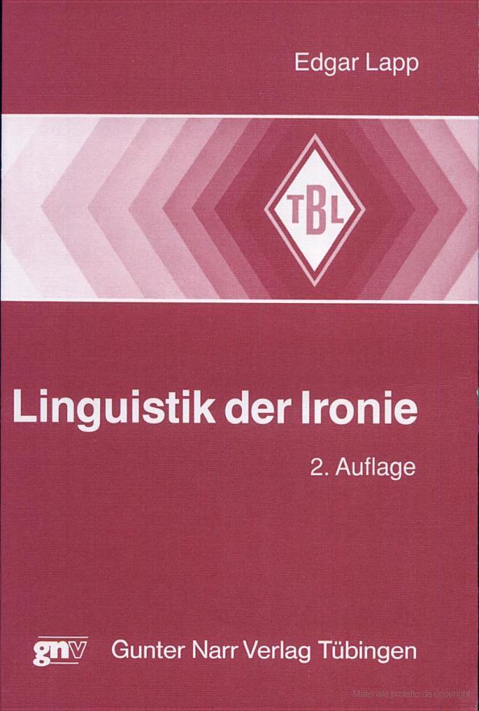 Linguistik der Ironie