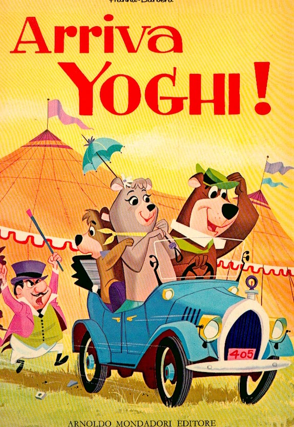 Arriva Yoghi!