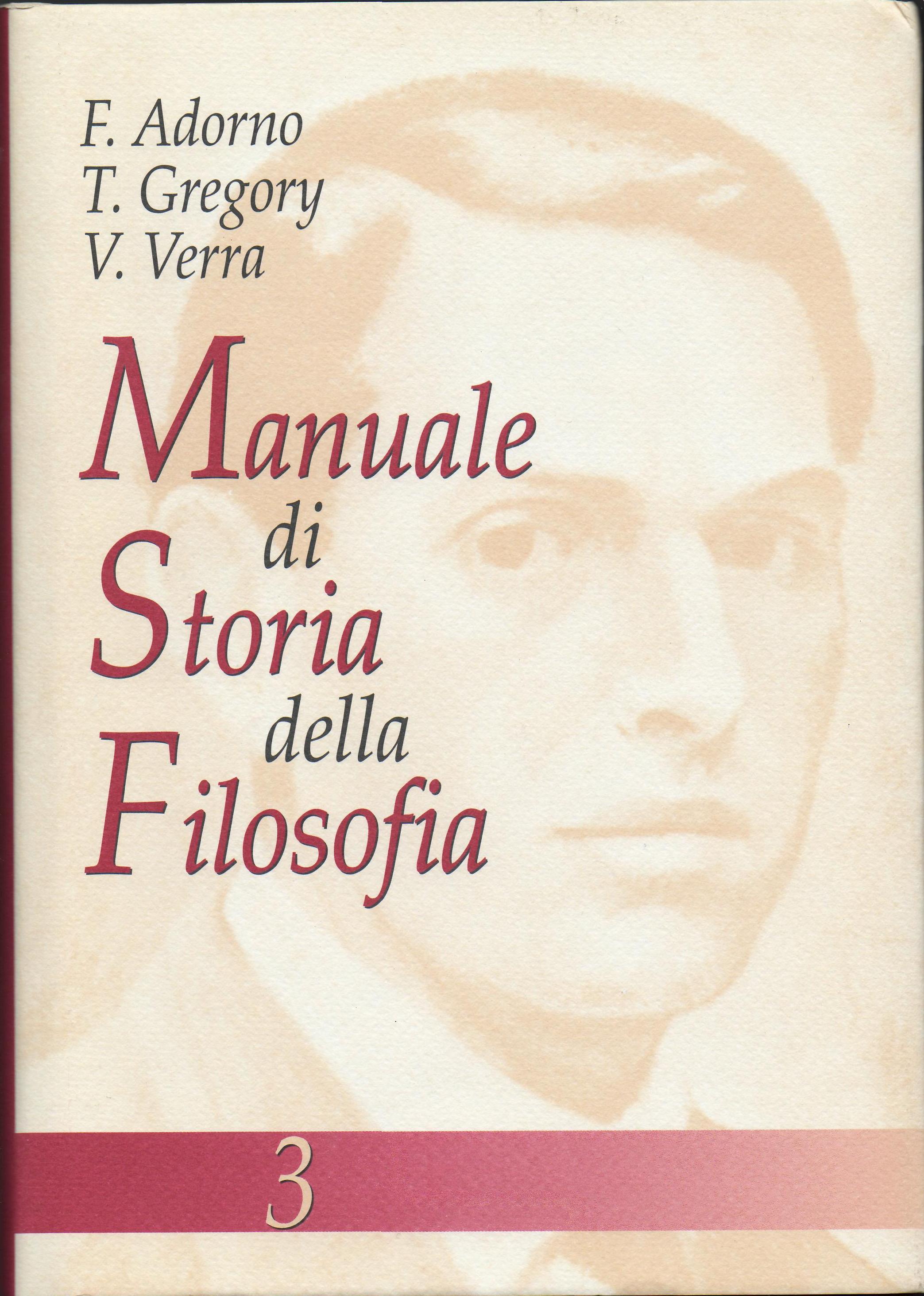 Manuale di storia della filosofia III
