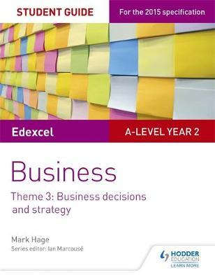 Edexcel A-level Business Student Guide