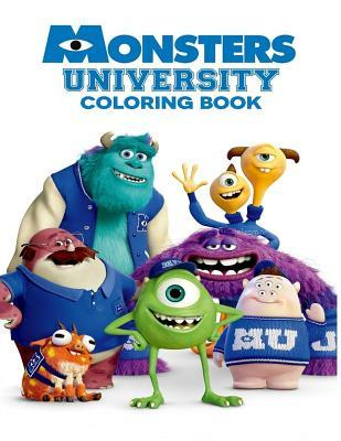 Monsters University Coloring Book
