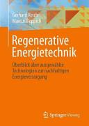 Regenerative Energietechnik
