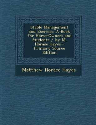 Stable Management an...