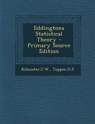 Eddingtons Statistical Theory