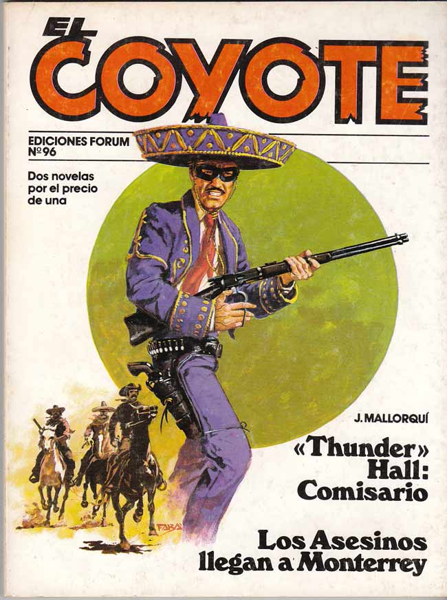 """Thunder"" Hall: comisario / Los asesinos llegan a Monterrey"