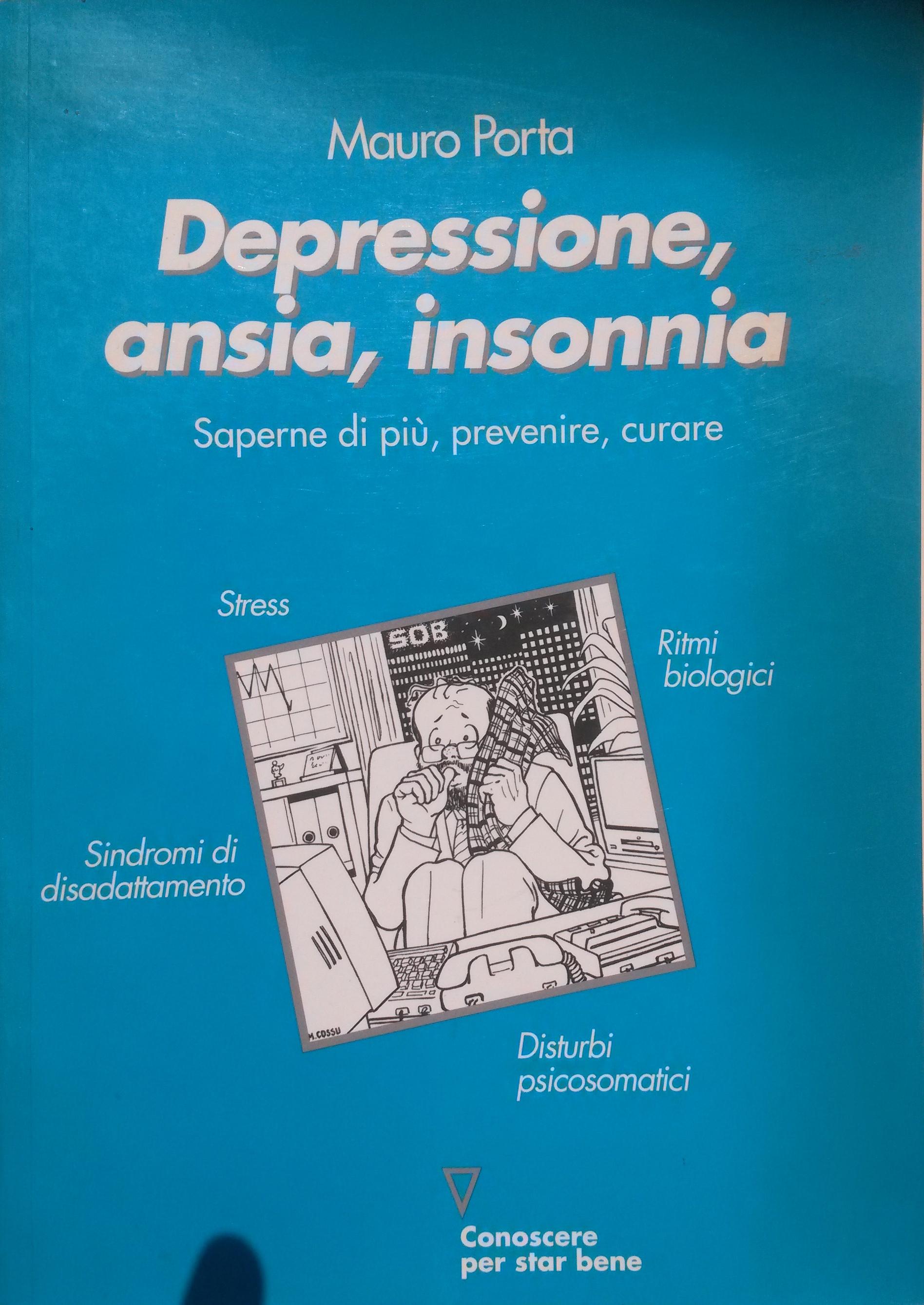 Depressione, ansia, insonnia