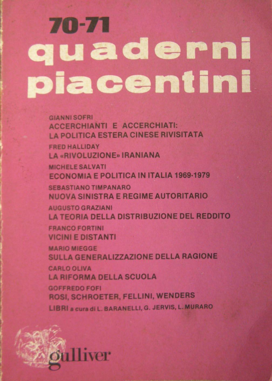 Quaderni piacentini