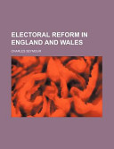 Electoral Reform in England and Wales