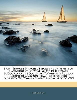 Eight Sermons Preach...