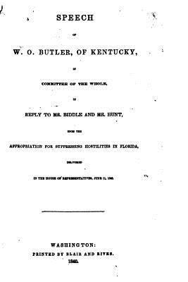 Speech of W. O. Butler, of Kentucky