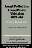 Lead Pollution from Motor Vehicles, 1974-86