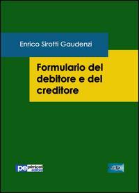 Formulario del debitore e del creditore