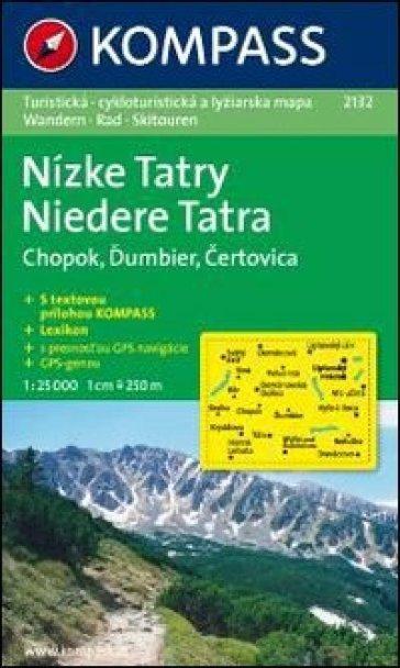 Carta escursionistica n. 2132. Repubblica Slovacca. Tatra Bassa-Niedere Tatra-Nízke Tatry 1