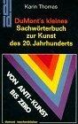 DuMont Taschenbücher, Nr.6, DuMont's kleines Sachwörterbuch zur Kunst des 20. Jahrhunderts