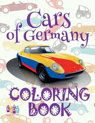 Cars of Germany Coloring Book