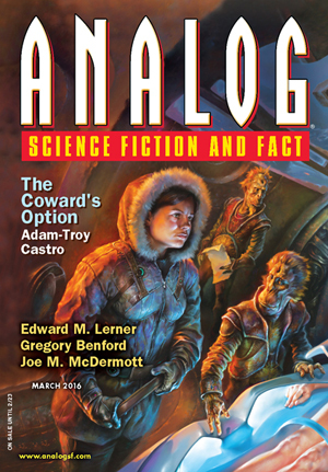 Analog Science Fiction and Fact, March 2016
