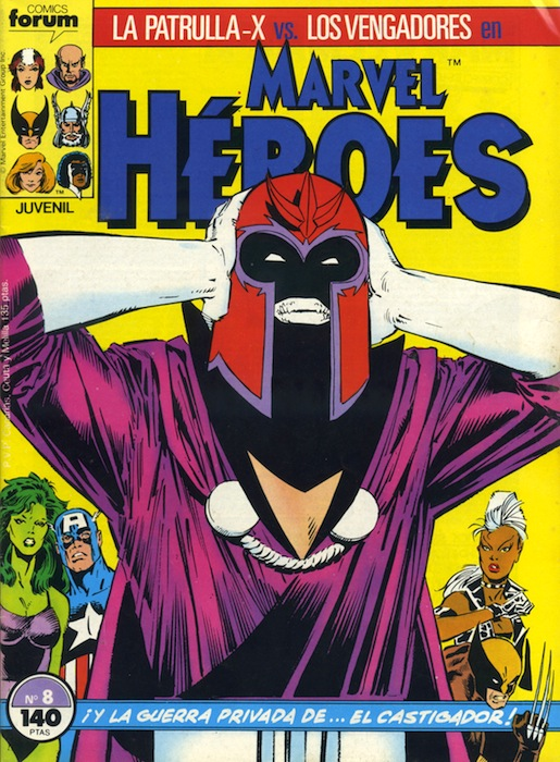 Marvel Héroes #8 (d...