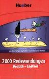 2000 Redewendungen Deutsch-Englisch