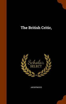 The British Critic
