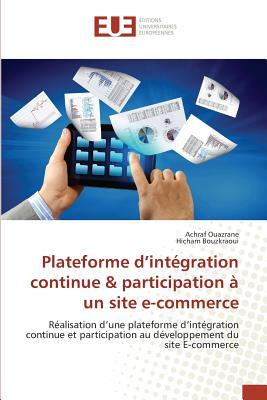 Plateforme d'Integration Continue & Participation a un Site E-Commerce