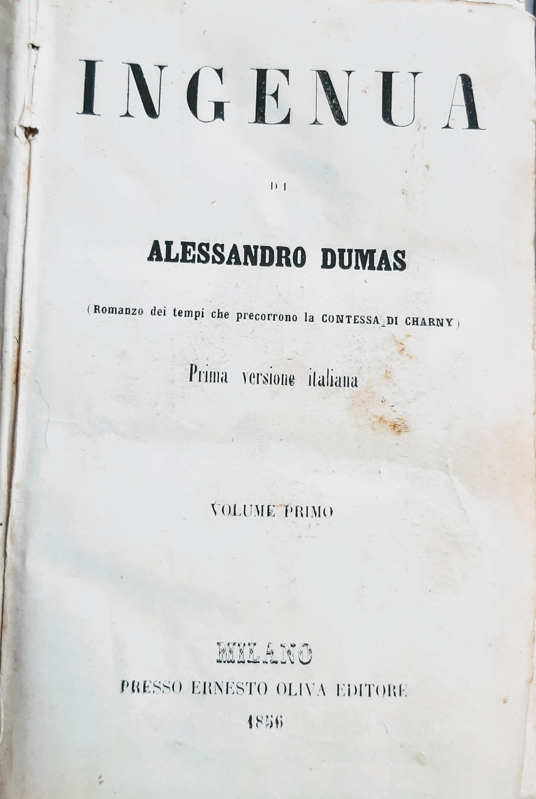 Ingenua - vol. 1