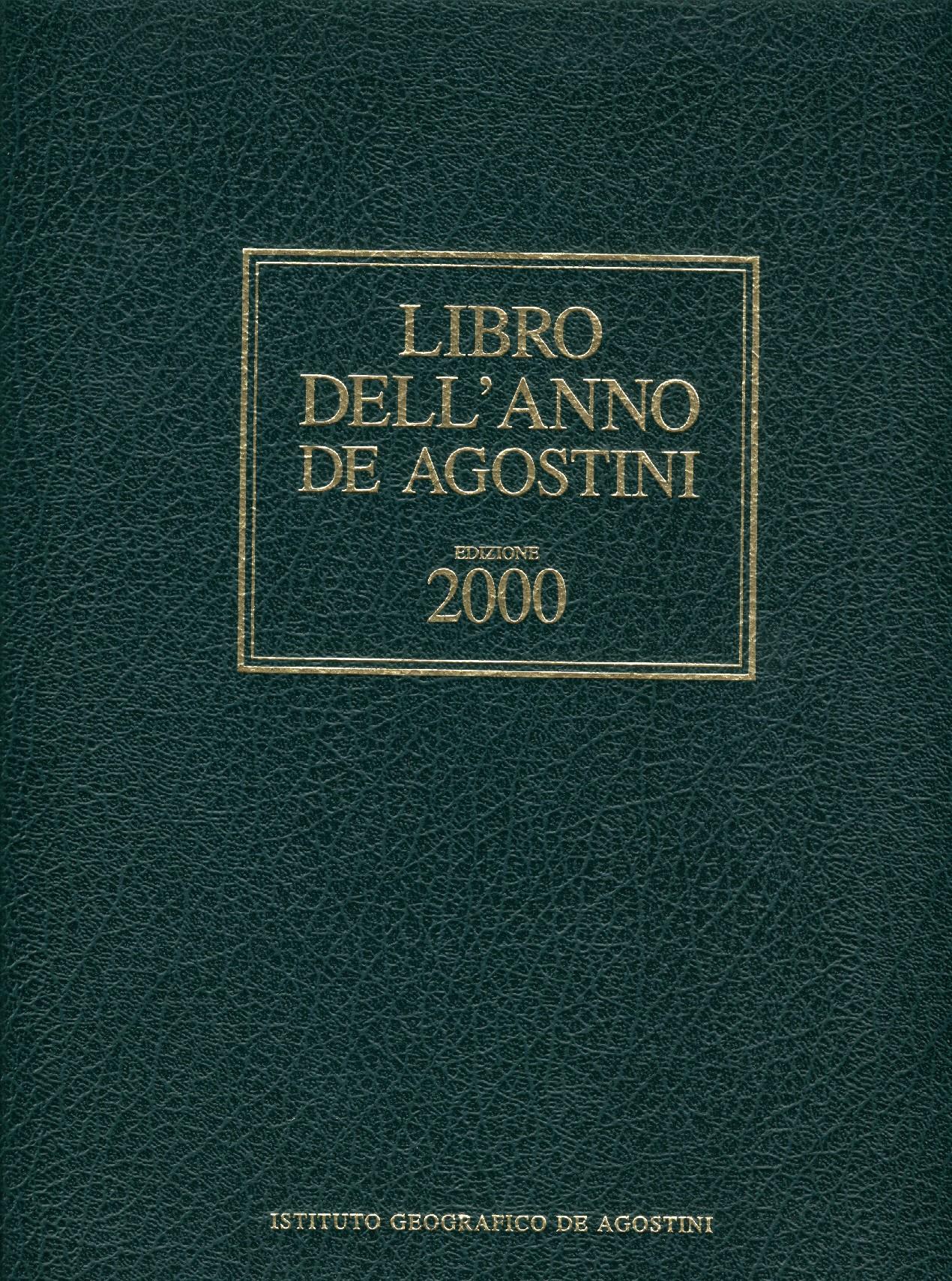 Libro dell'anno De Agostini Edizione 2000