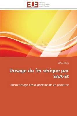 Dosage du Fer Serique par Saa-et