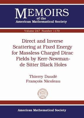 Direct and Inverse Scattering at Fixed Energy for Massless Charged Dirac Fields by Kerr-newman-de Sitter Black Holes