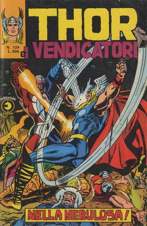 Thor e i Vendicatori (Il Mitico Thor) n. 124