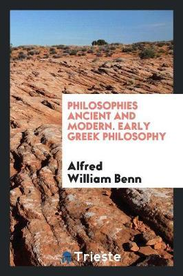 Philosophies Ancient...