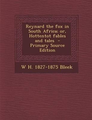 Reynard the Fox in South Africa