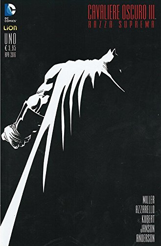 Batman: Il cavaliere oscuro III - Razza suprema #1