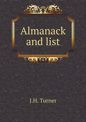 Almanack and List