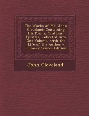 The Works of Mr. John Cleveland