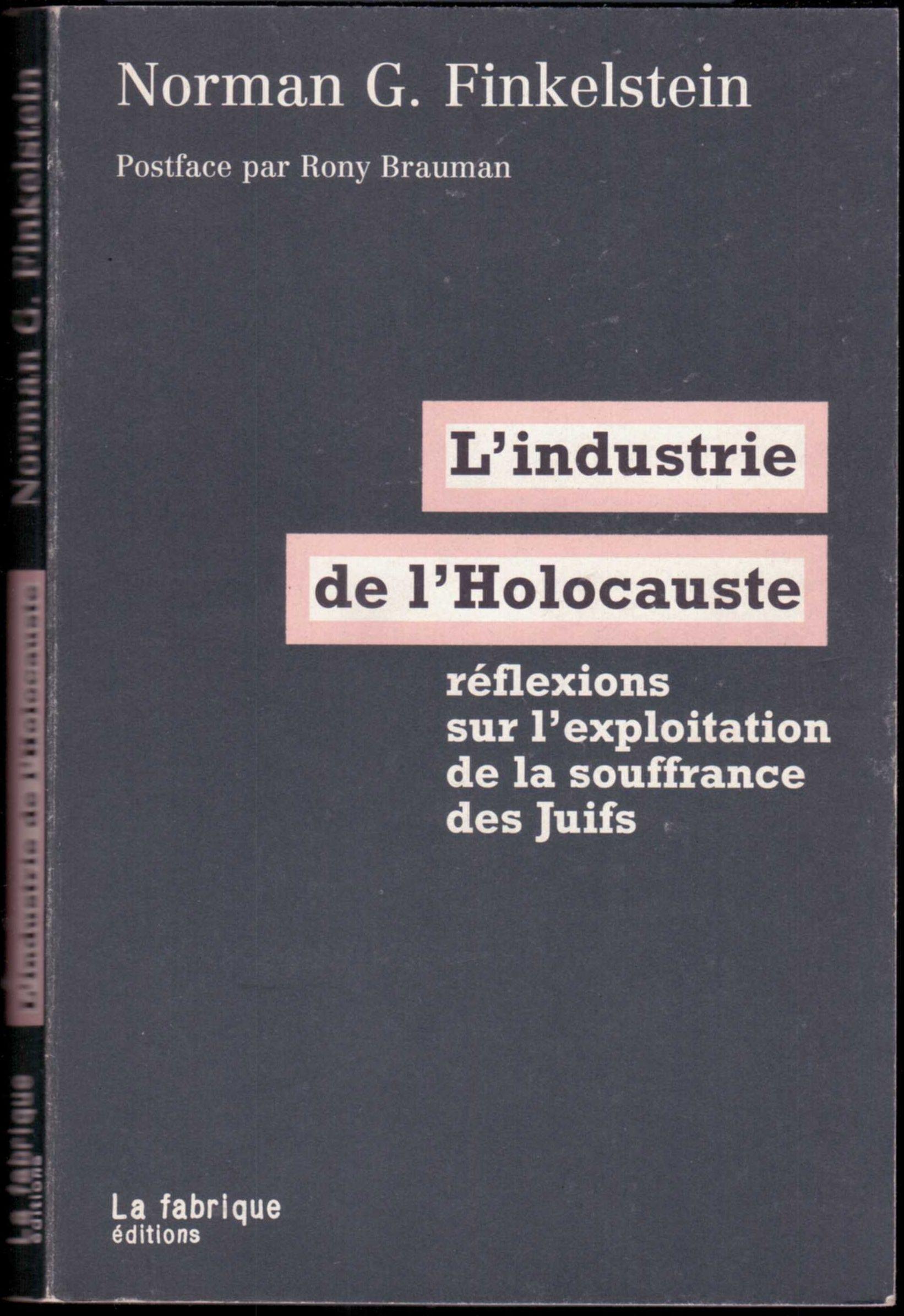 L'industrie de l'Holocauste