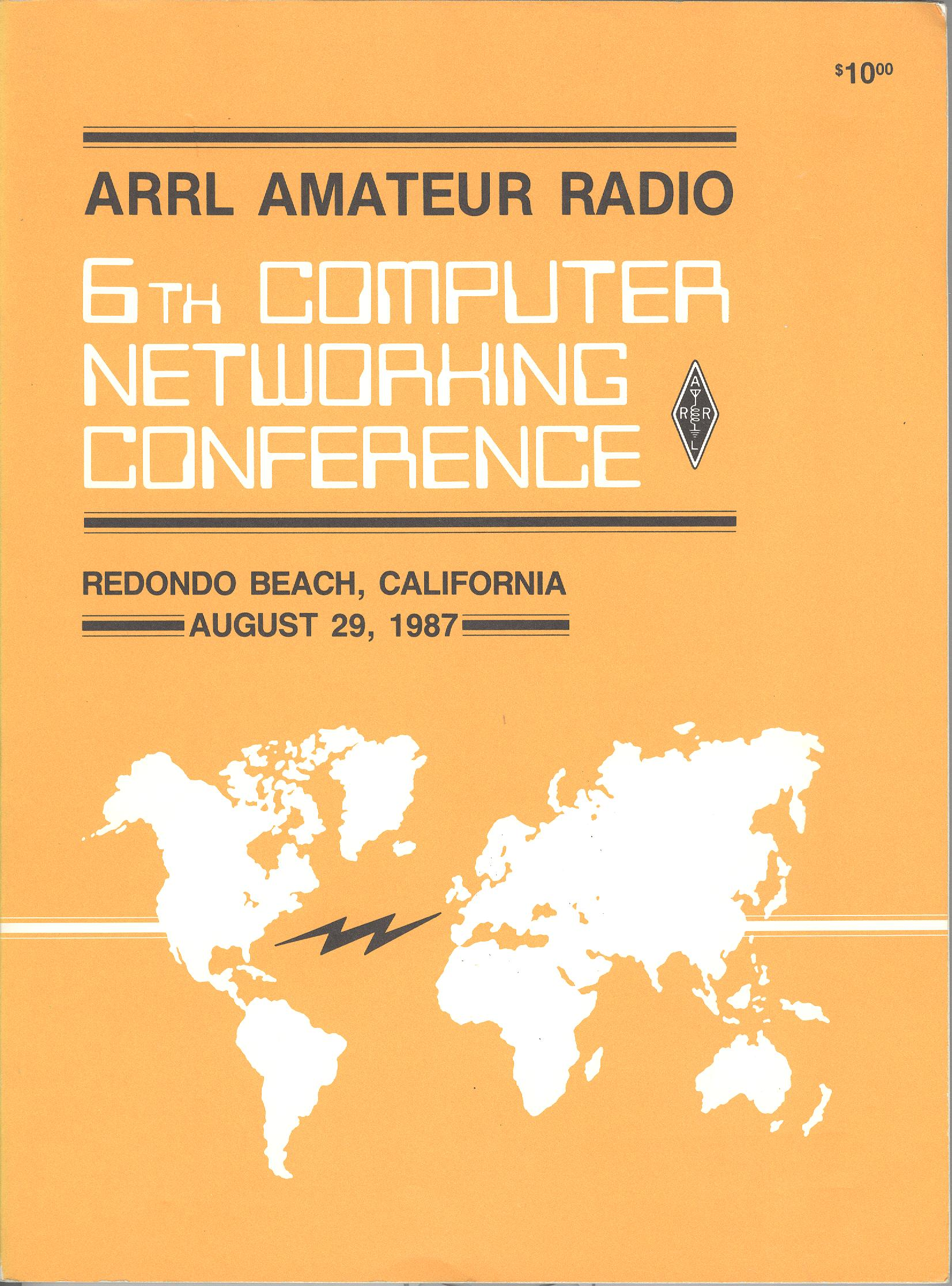 ARRL Amateur Radio 6th Computer Networking Conference
