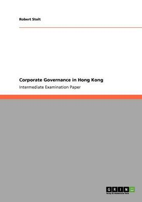 Corporate Governance in Hong Kong