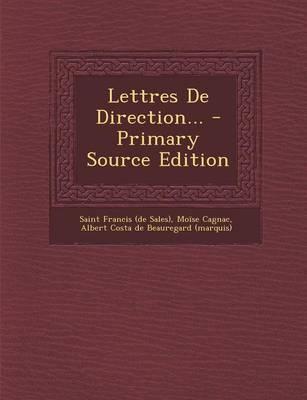 Lettres de Direction.
