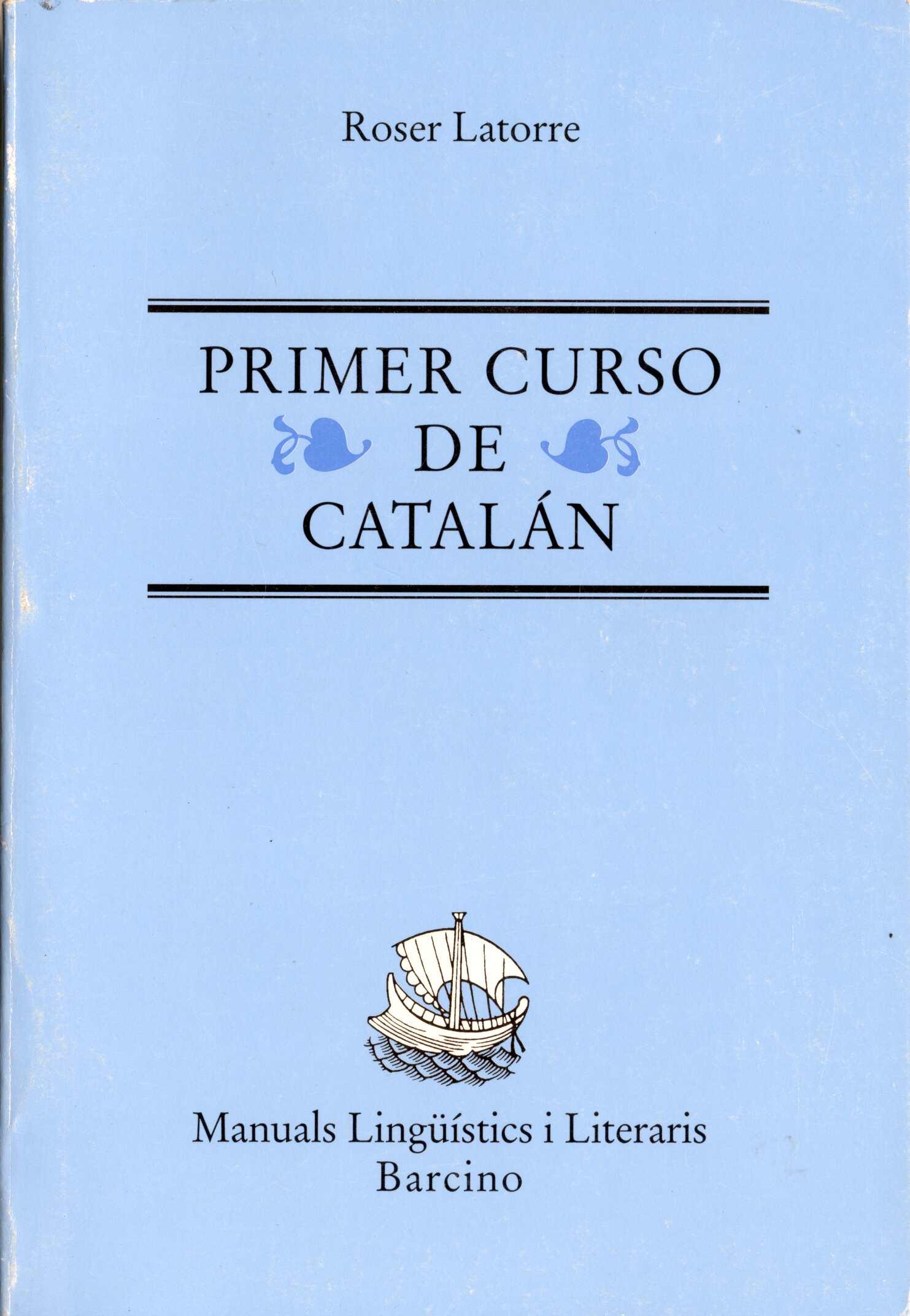 Primer curso de Catalán