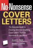 No-Nonsense Cover Letters